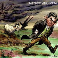 "Getting Away From It all; If anybody needs a break it's Gordon Brown. All politicians now have to be greener-than-thou, so he dutifully takes off on a rather dour holiday in the Suffolk ""riviera"". He has recently accepted a comparison with the Heathcliff"