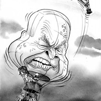 Up, Up & Away; It begins to look like Obama is getting some lift - some clean blue air between him and the desperate, old-timey look of McCain.