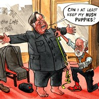 "Ken Clarke has said he ""probably would"" back Jeremy Corbyn to be caretaker prime minister in order to block a no-deal Brexit. Telegraph 31/8/2019"